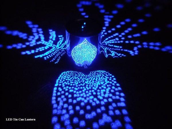 LED Tin Can Lantern