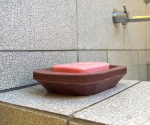 混凝土肥皂盘