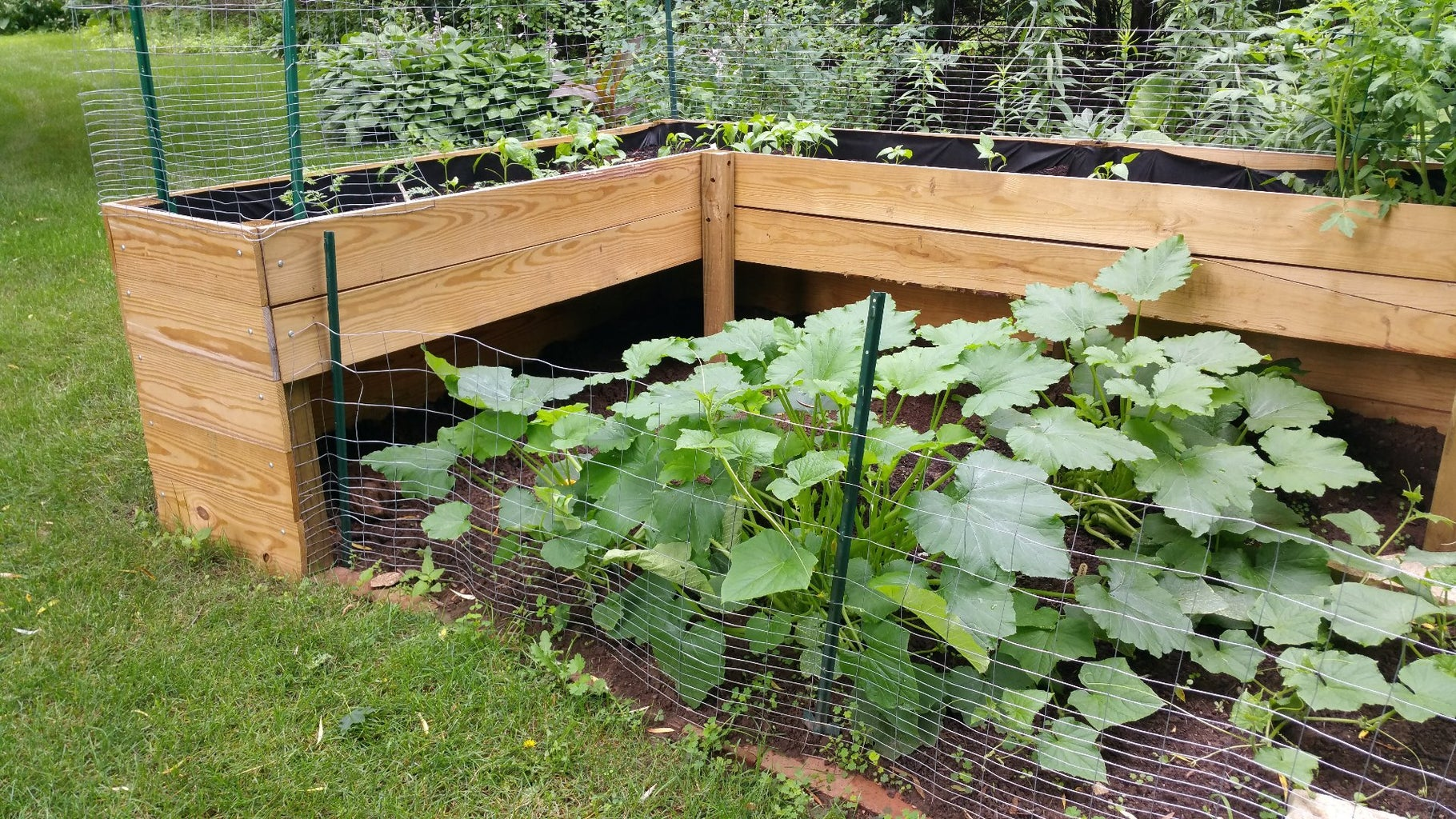 Prepare Your Garden Area and Plot Out the Location of the Exterior