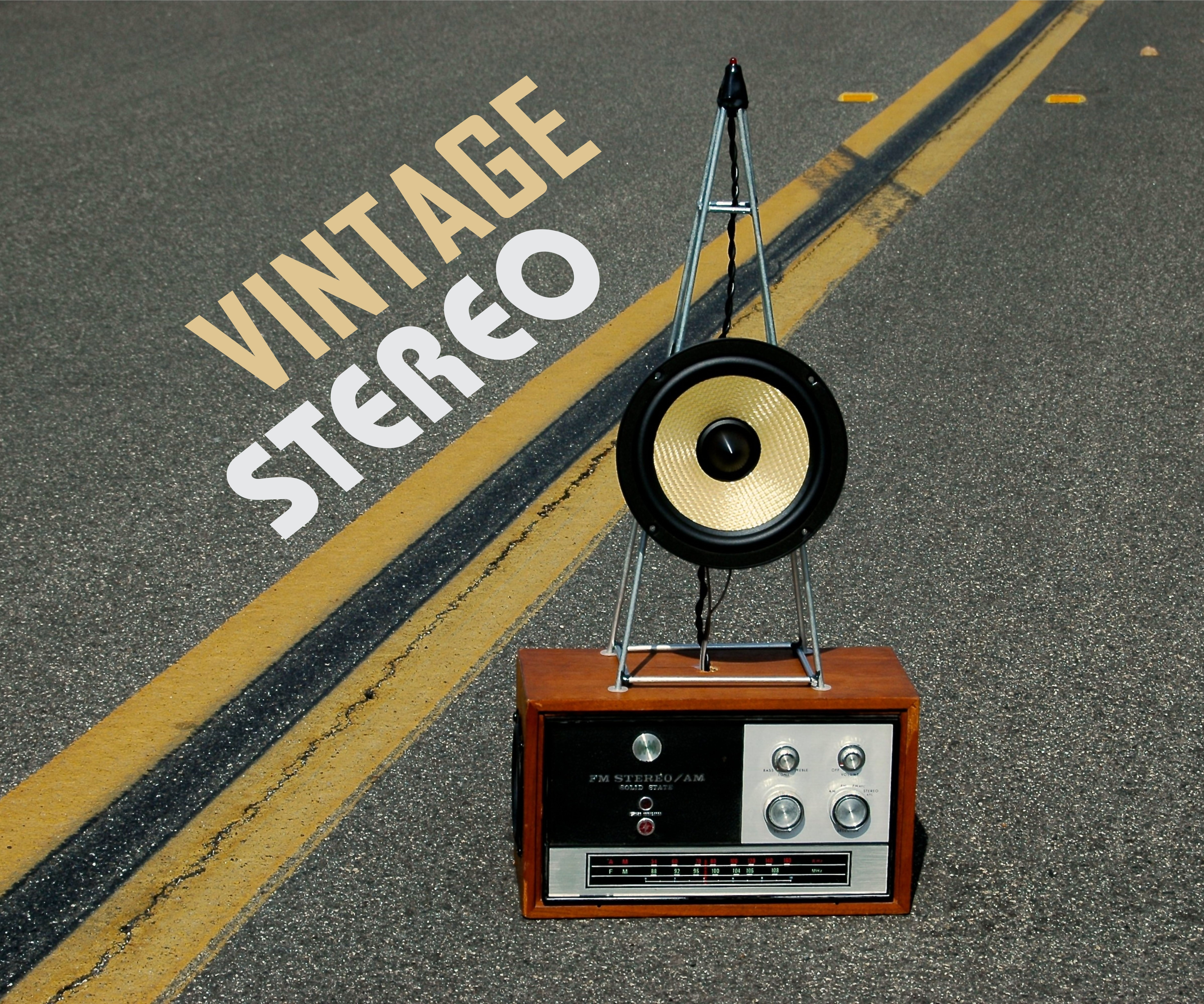 Vintage Inspired Stereo