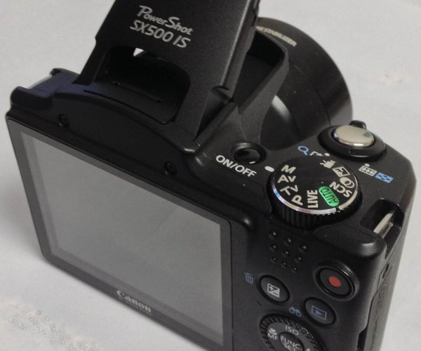 Time Lapse With a Canon SX500-IS Camera