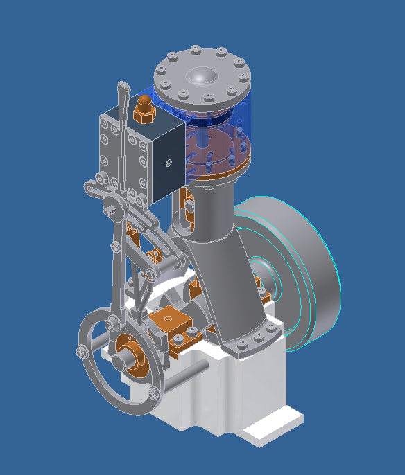 Small Steam/Air engine