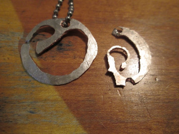 Easy Metal Pendant From Stuff You Already Have