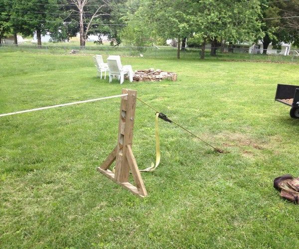 Slackline Without Trees - How to Build an A-Frame