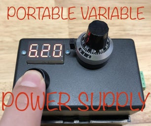 Variable Portable Power Supply