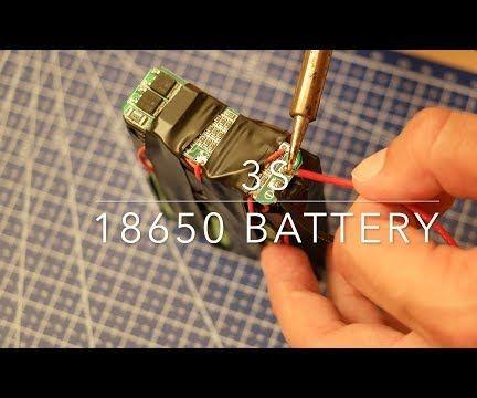 3s 18650 12V Lipo Battery