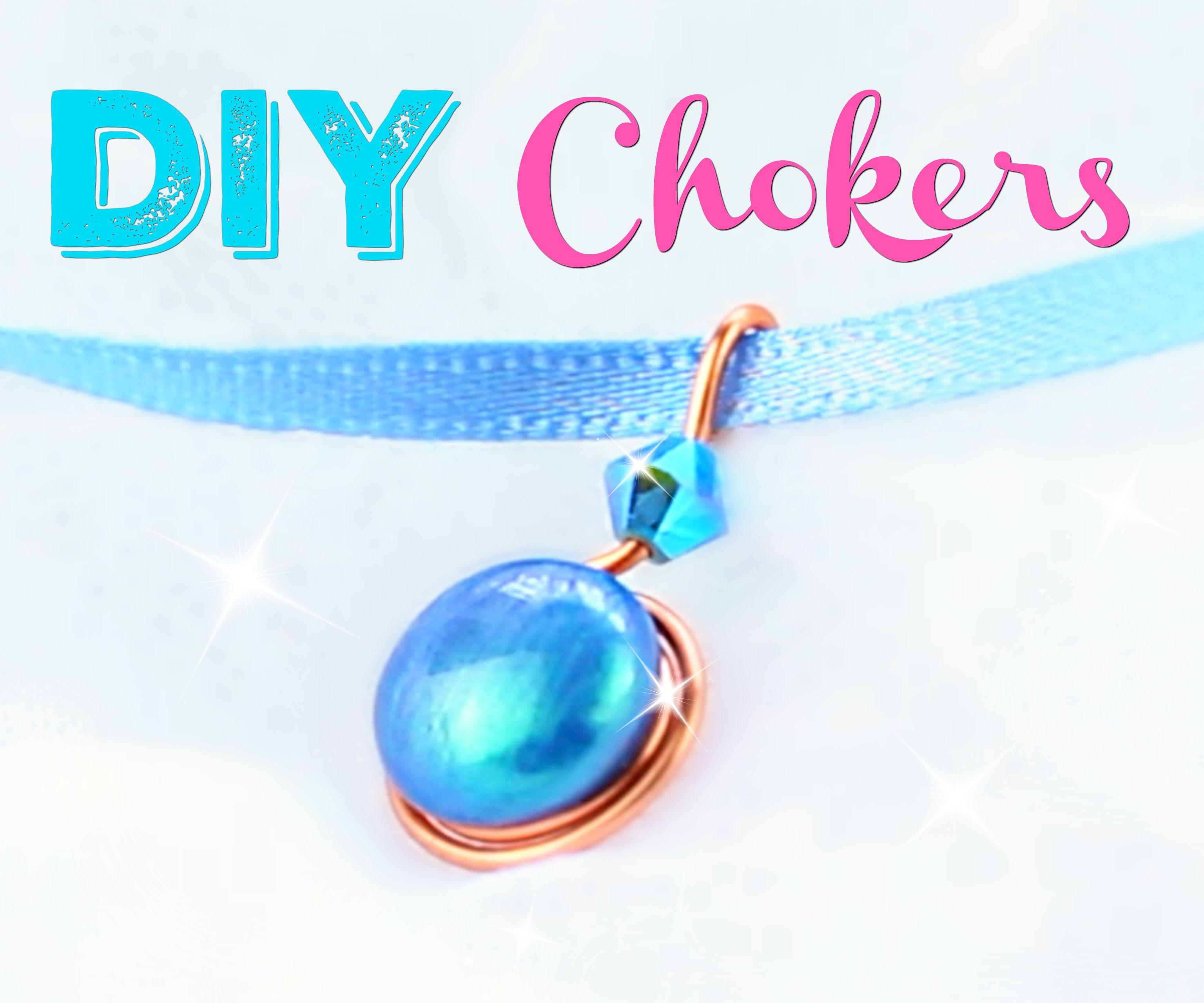 DIY Chokers   No Special Tools! SUPER EASY!