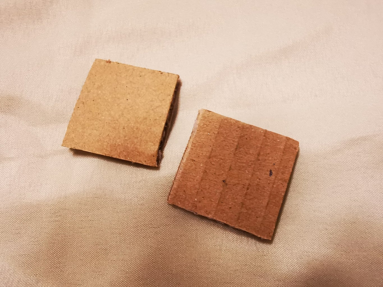 Step 8: Cardboard Cutting