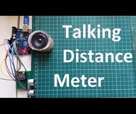Talking Distance With Arduino Uno, the Ultrasonic Sensor HC-SR04 and the WTV020SD Sound Module