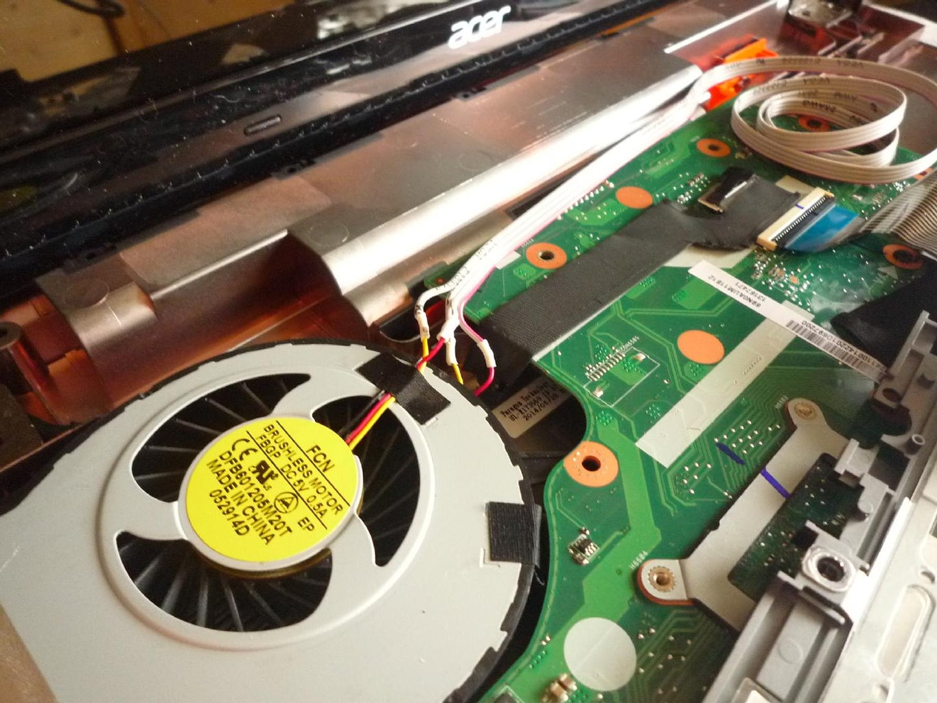 Get Access to the Fan Wireing