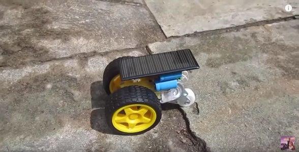 How to Make Mini Solar Car