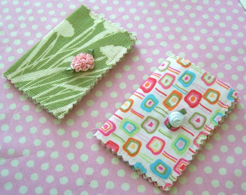 Sew Useful Easy Fabric Card Holder
