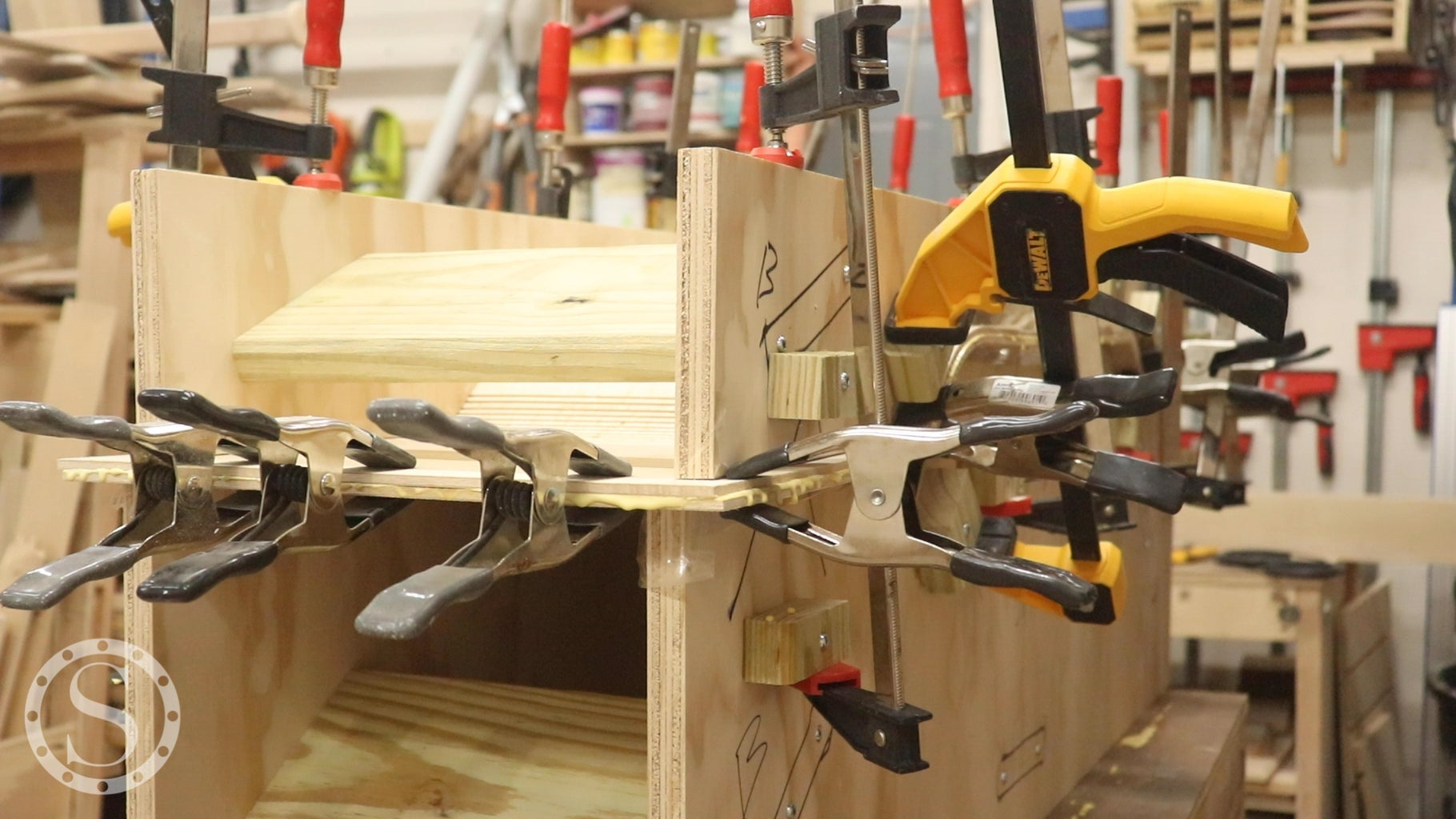 Glue Up the Top