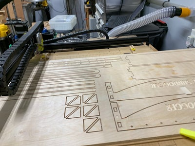 Carving the Wooden Frame