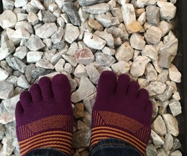 Easy and Cheap Rock Mat - Foot Massage/Acupressure