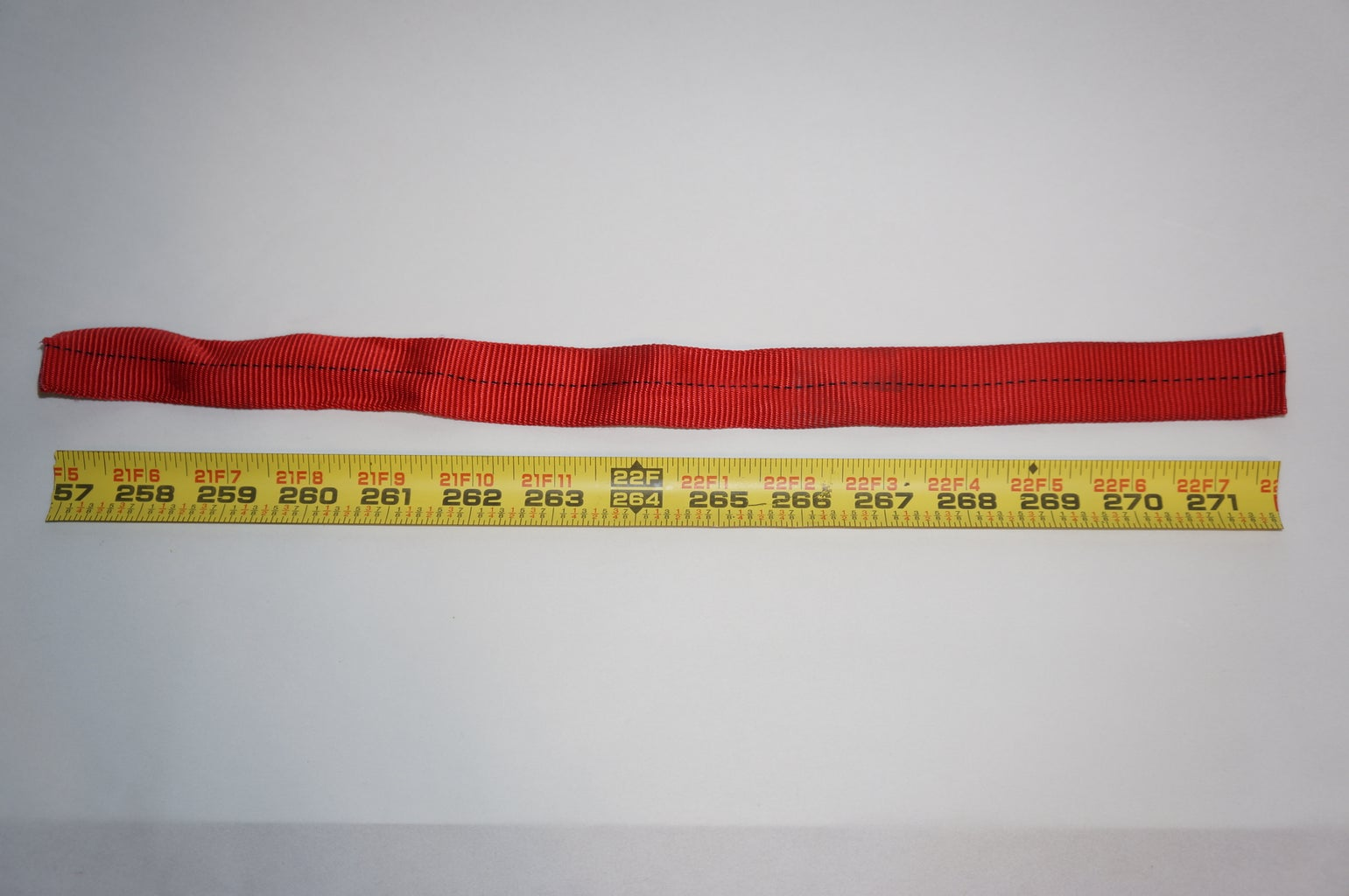 Cut the Tape Measure and Webbing