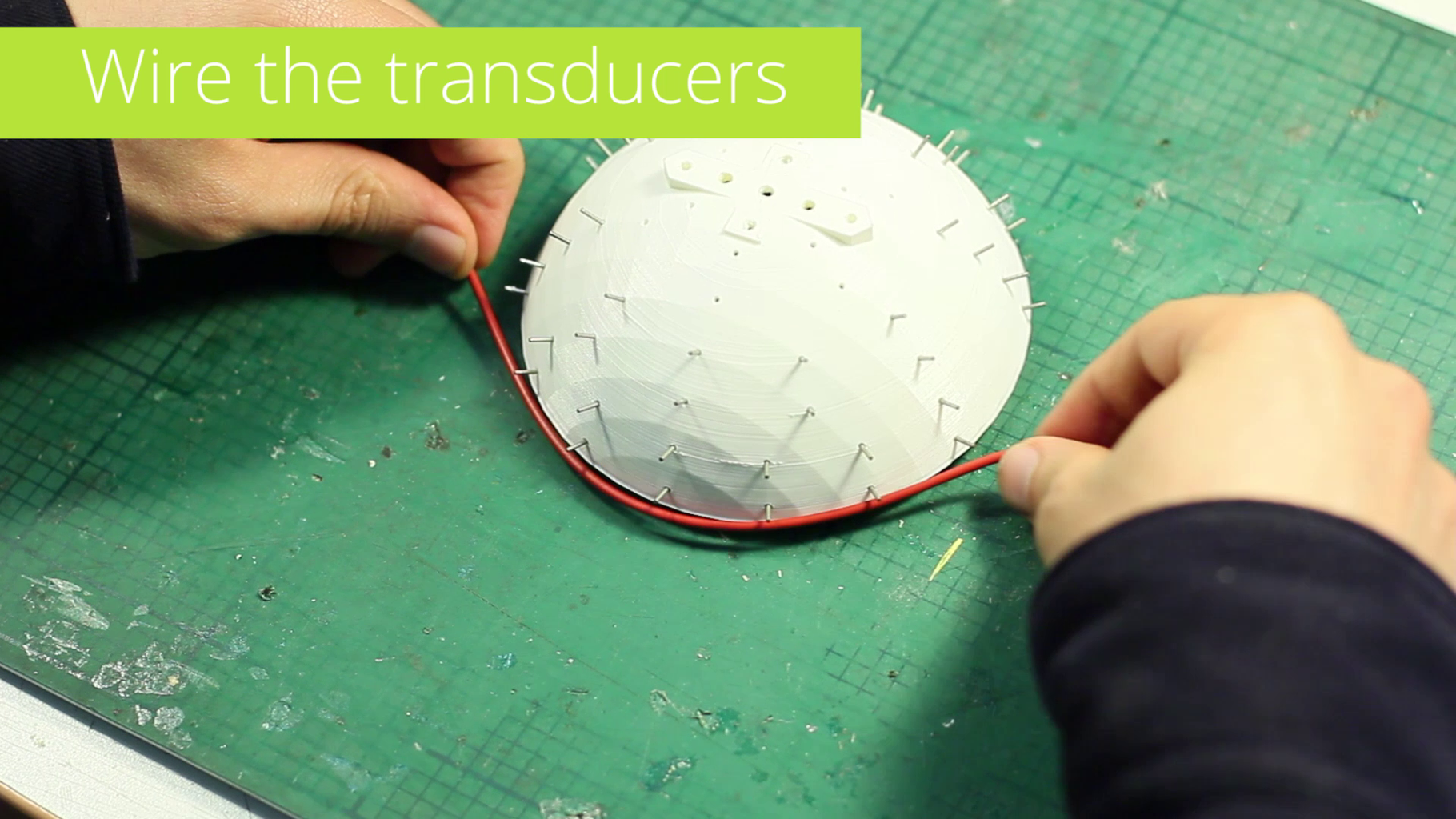 Wire the Transducers (hard Method)