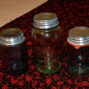Cleaning Zinc Lids for Mason Jar Displays