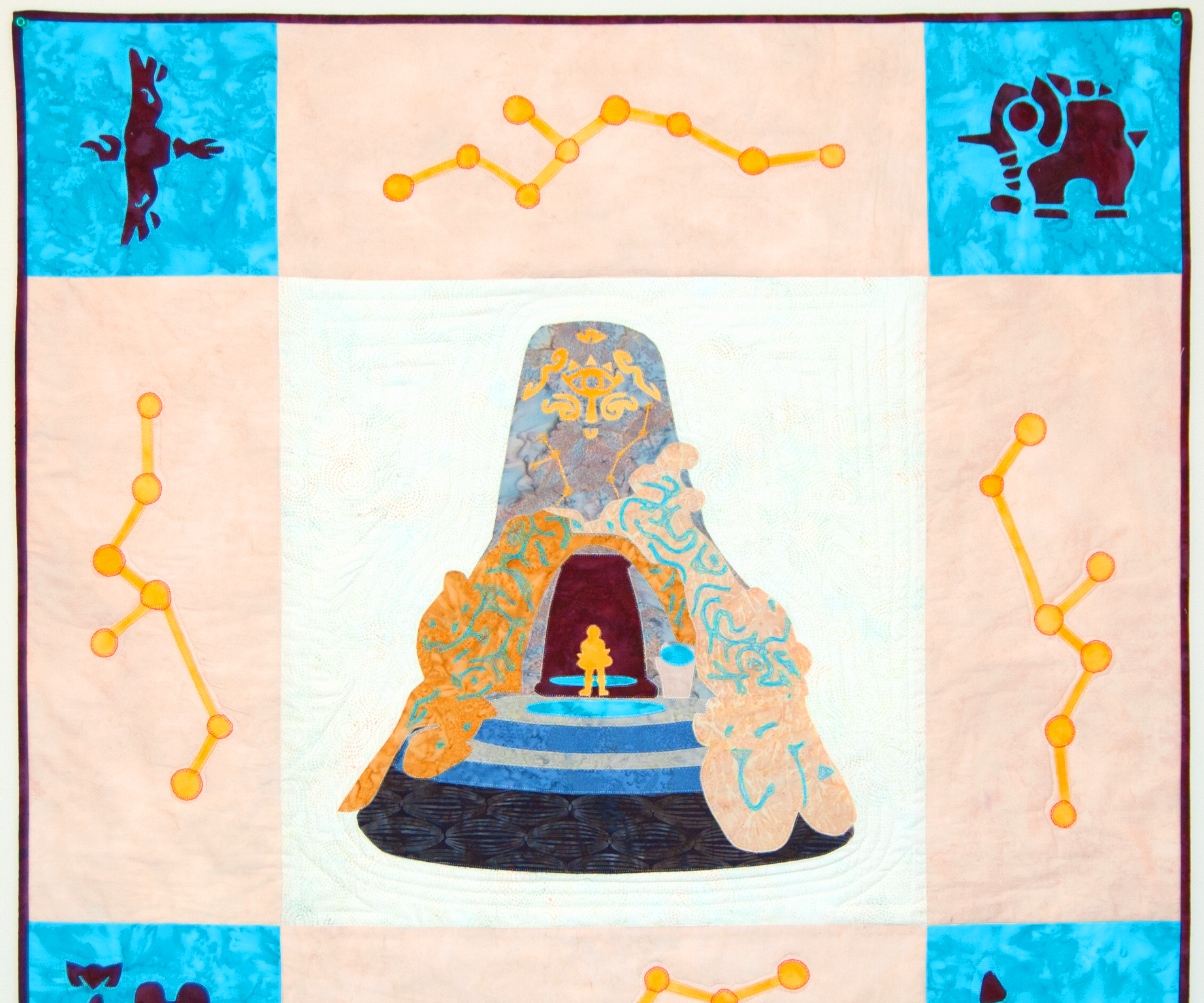 How to Design and Make a Legend of Zelda BoTW Wall Quilt