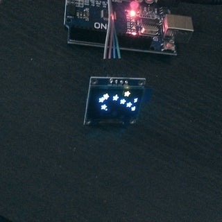 """The First Usage of 0.96"""" I2C OLED Display With Arduino UNO"""