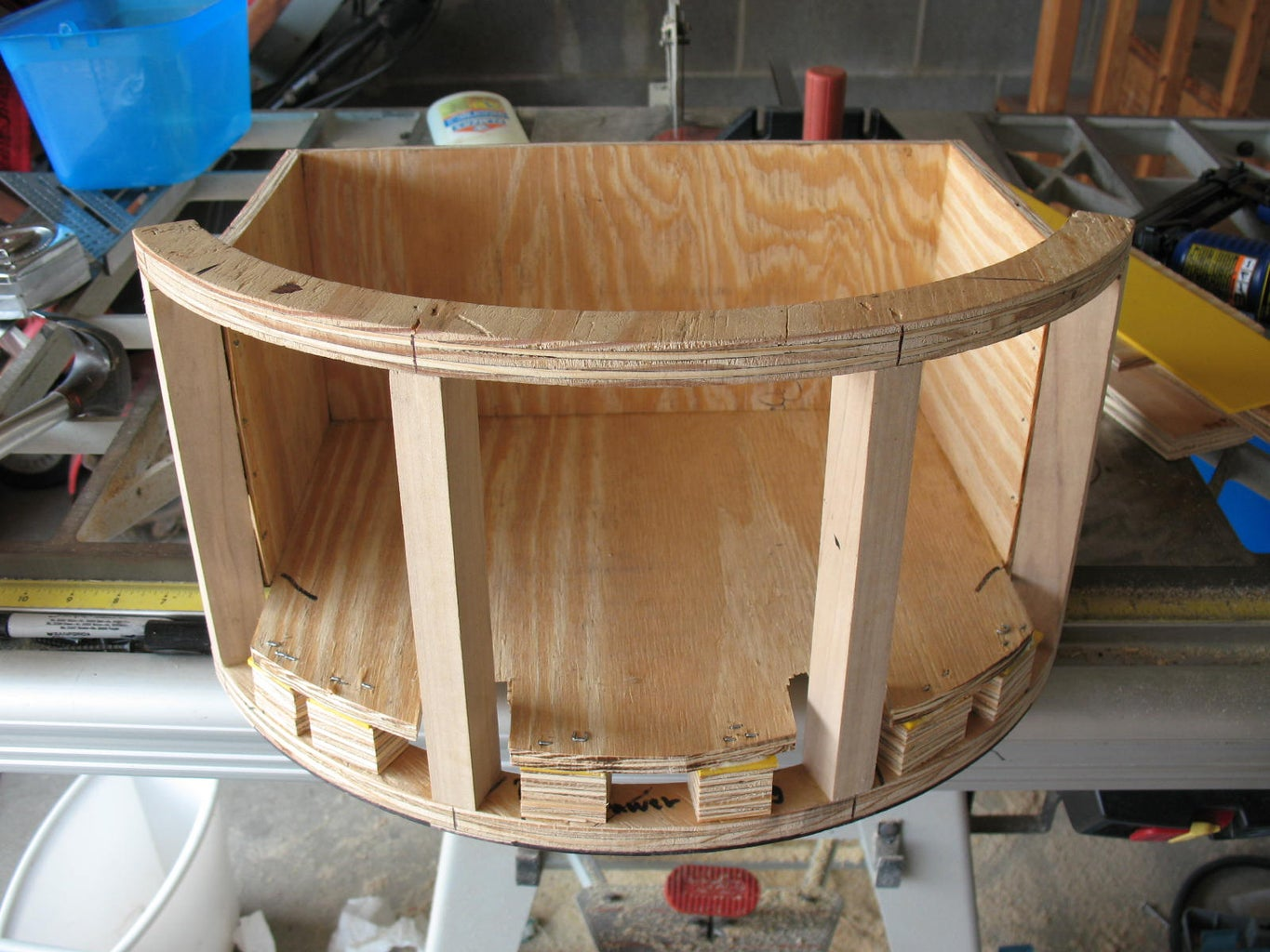 Constructing the Drawer