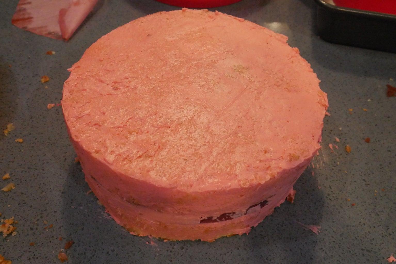 Assemble Cake