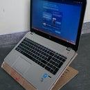 Cardboard laptop holder