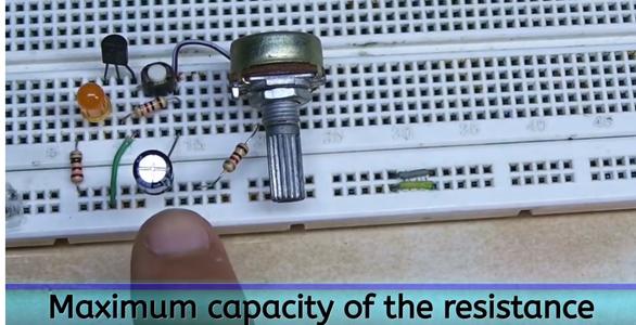 Maximum Capacity of the Resistance