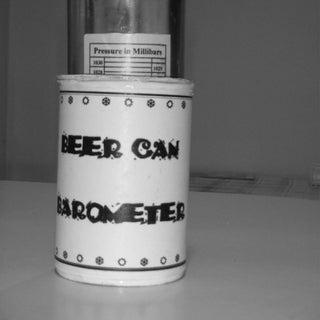 Beer Tin Barometer