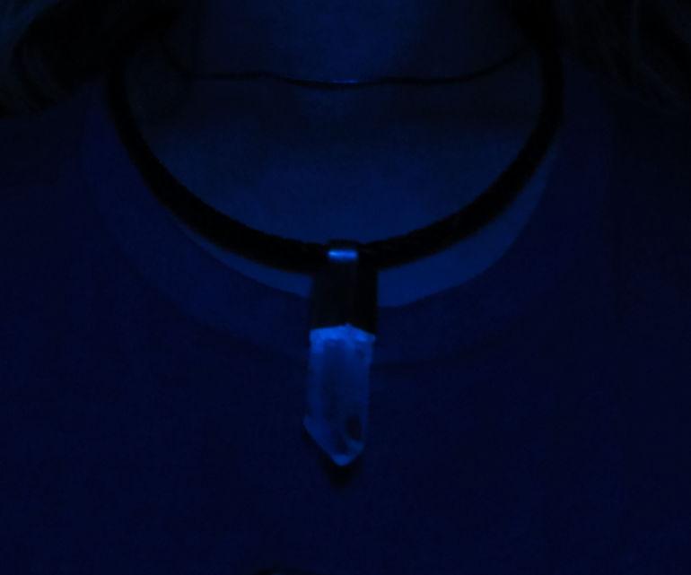 Glowing Crystal Pendants