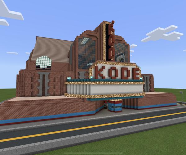 "Minecraft - the ""Kode"" Cinema"