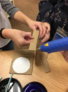 Step 3: Glue Cardboard