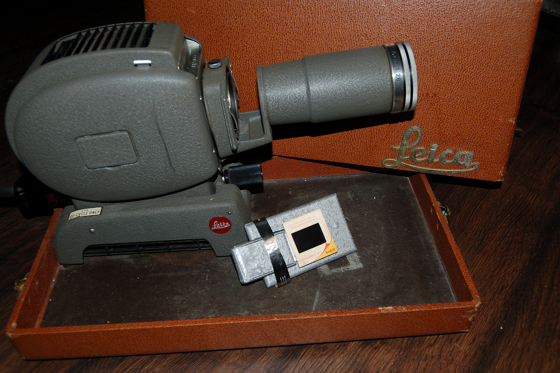 1950's Leica Slide Projector LCD conversion for under $30