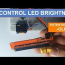Controlling LED Brightness With a Potentiometer and OLED Display