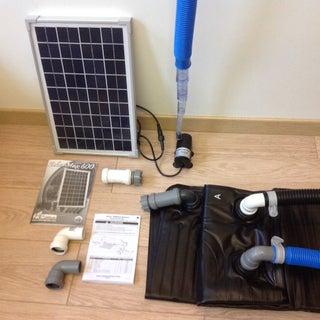 Genius Portable Solar Water Heater Energy Module!