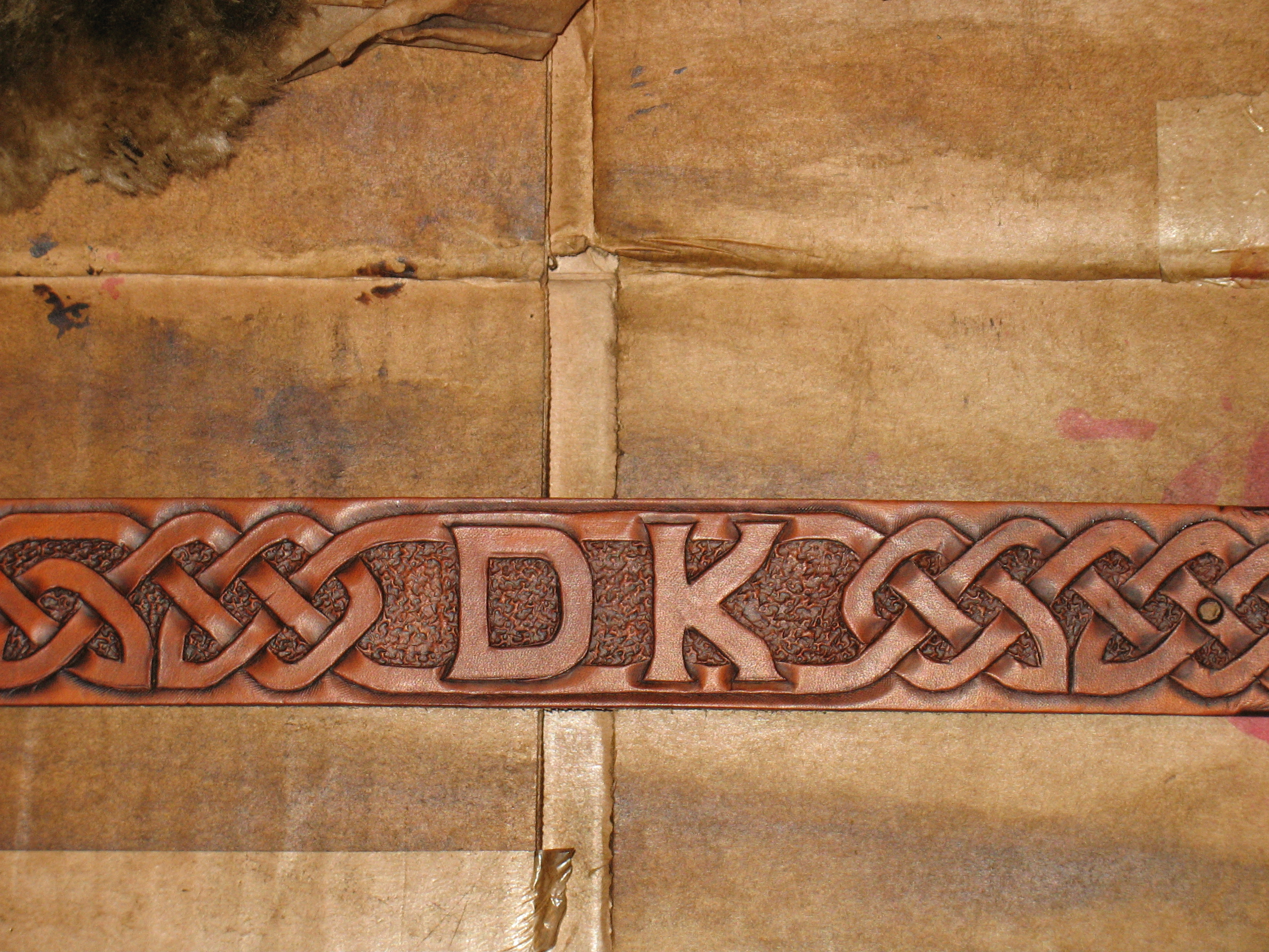 Design and Make Celtic Knotwork Leather Belt