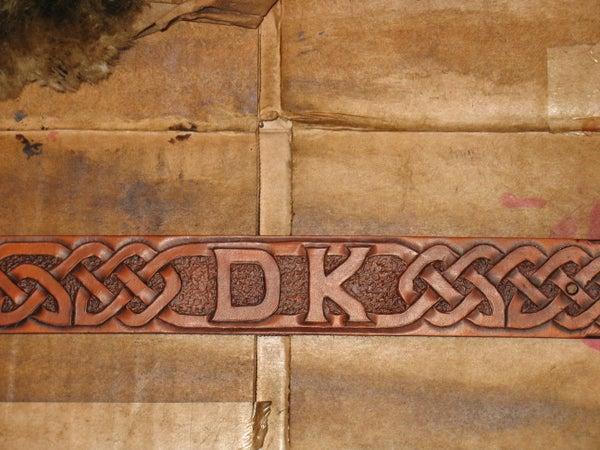 Design and Make Celtic Knotwork Leather Belt