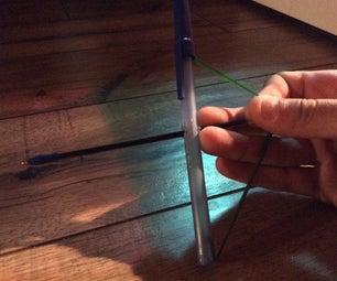 Make a Pen Bow and Arrow