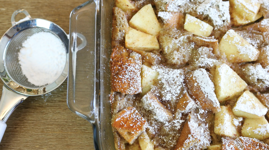 How to Make Apple Bread Pudding