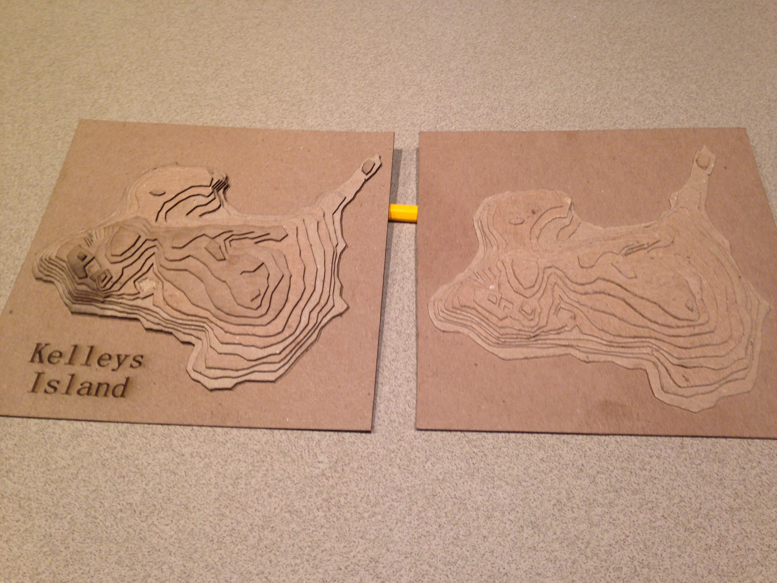 Easy 3D Topographical Maps