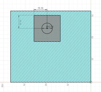 Design Process - Moving Fixture - Clamp Screw Holes