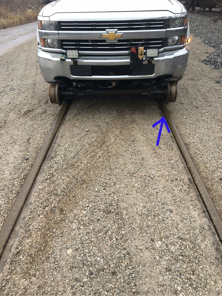 How to Set a Railroad Hi-rail Vehicle on the Rail