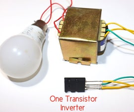 How to Make Single Transistor 5200 to Inverter