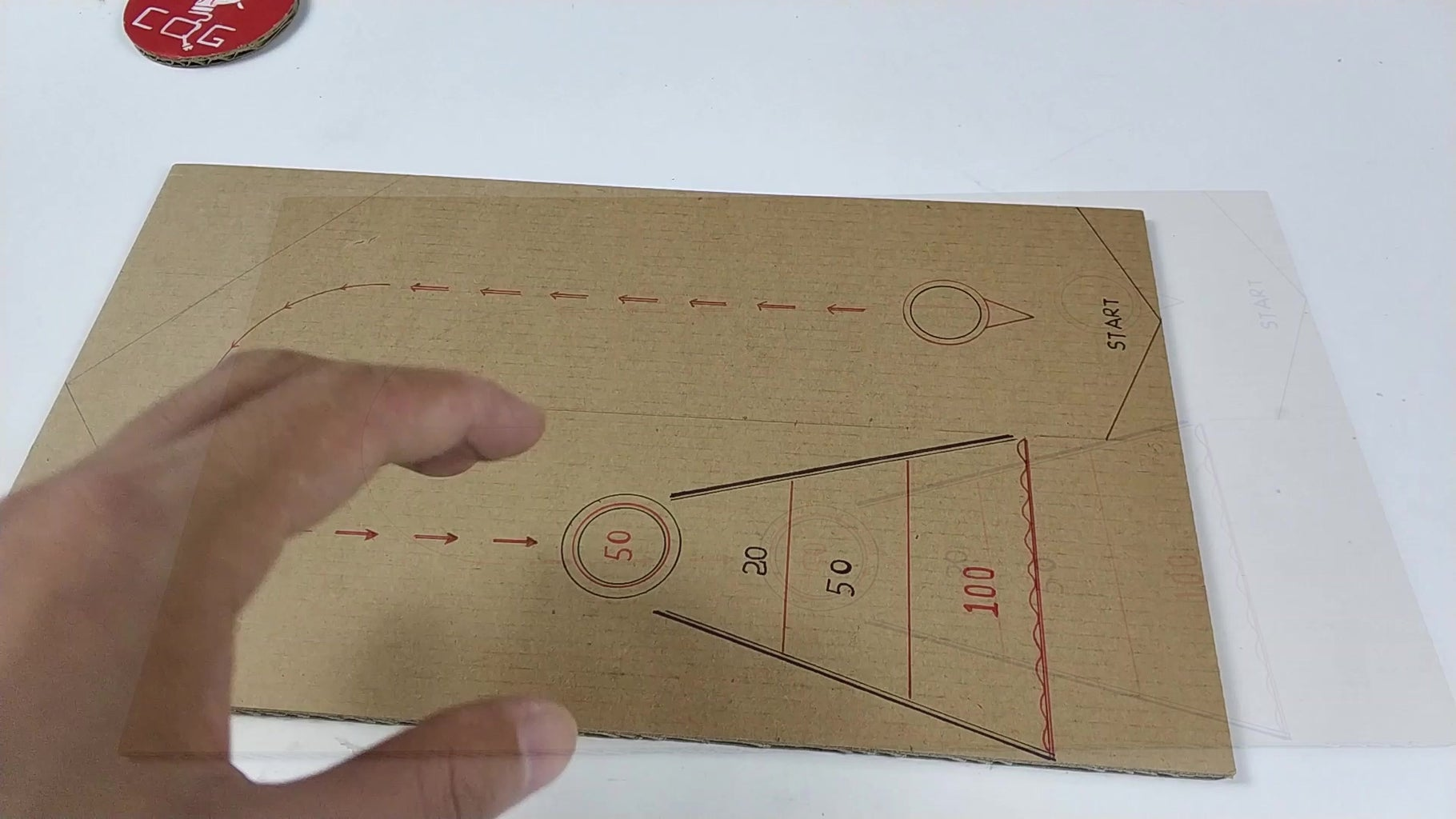 Step 2 Draw the Bottom Plate