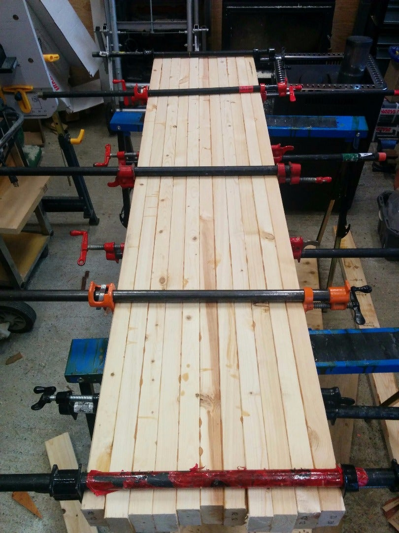 Step 2: Glue Your 2x4s Together!