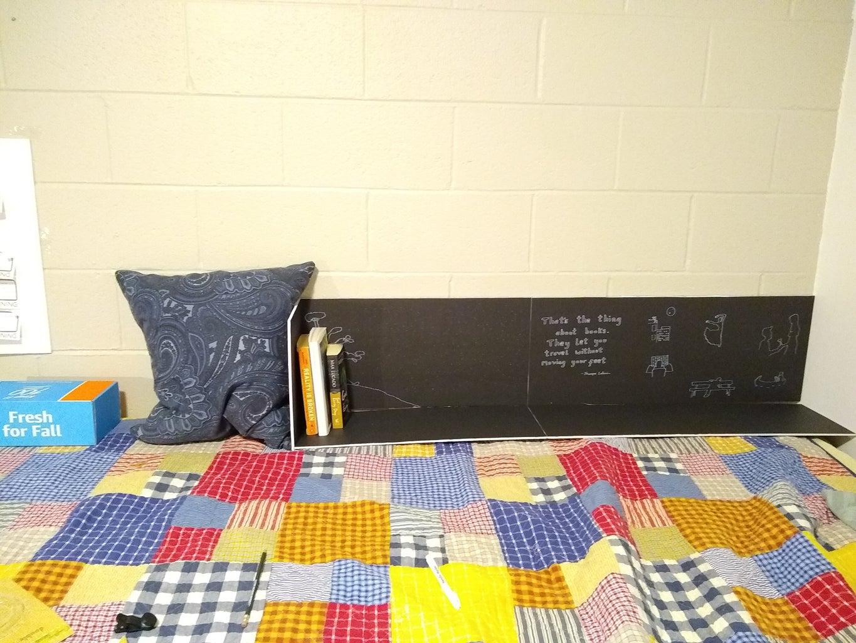The Bed Bookshelf