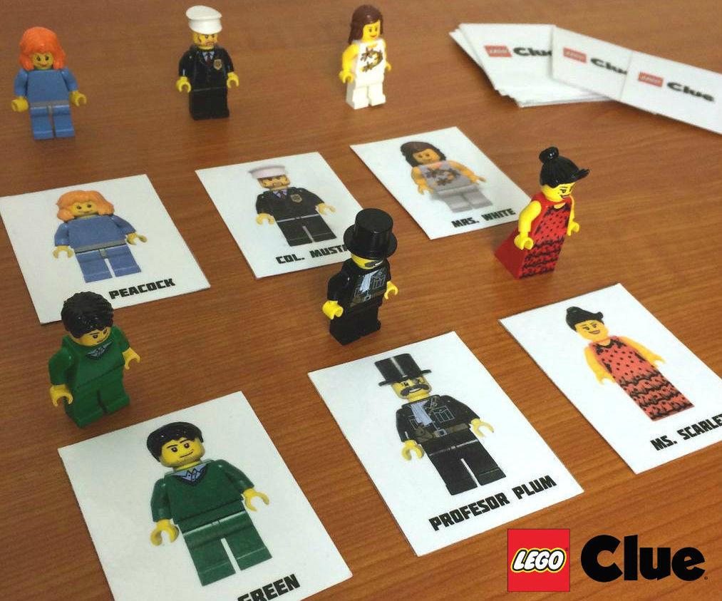 Lego Clue