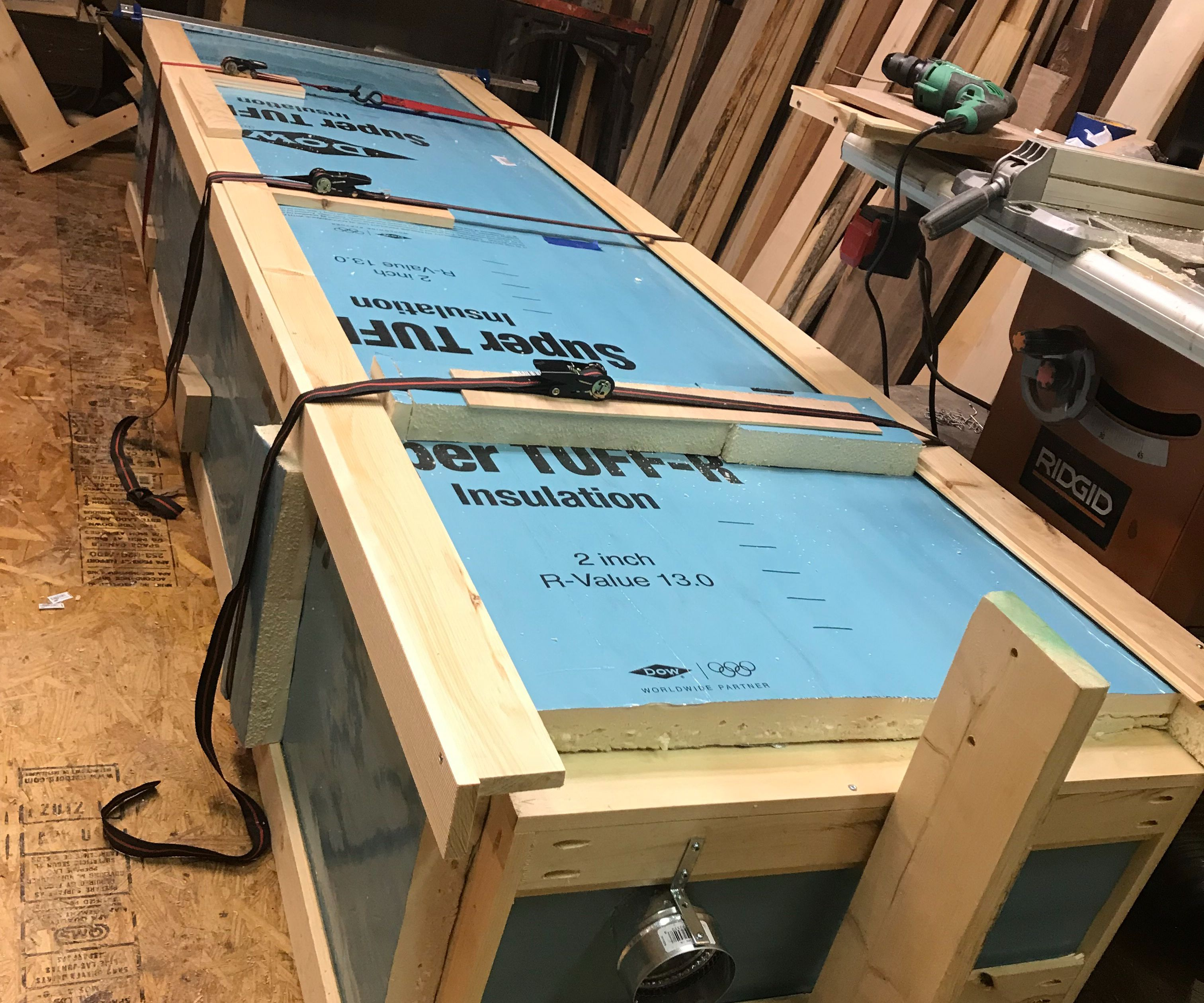 Easy Scaleable-size Wood Kiln