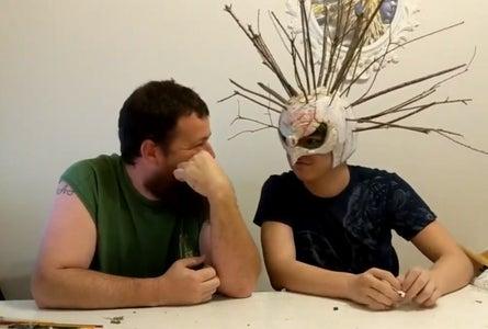 DIY Black Ops 4 Zombies Monkey Bone Helmet