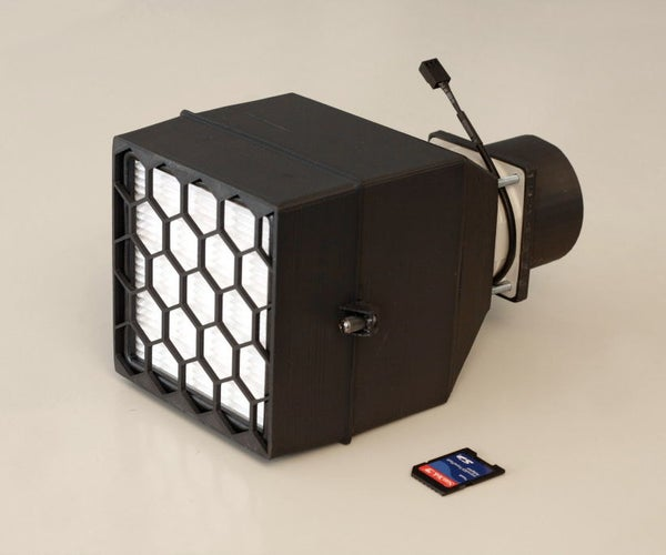 Active Air Filter (HEPA 13 Filter and Active Carbon Pellets)